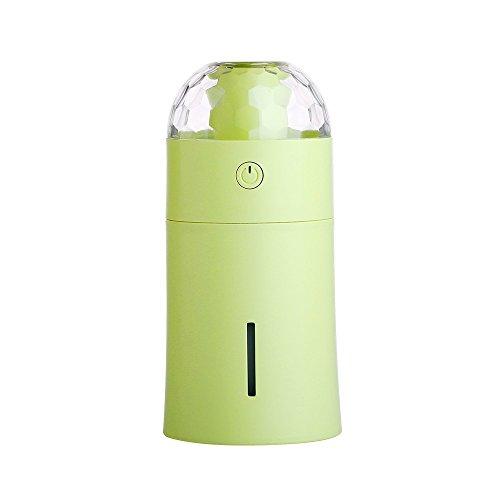 Wascoo 175ml Aroma Luftbefeuchter Ultraschall Diffusor USB Aroma Lampe Ätherische Öle Luftbefeuchter Automobil Luftreiniger für Zuhause/Büro/Fahrzeug