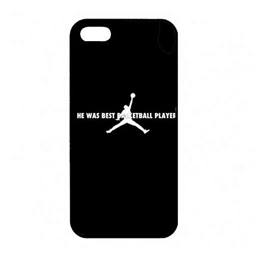 Nike Air Jordan Logo Black Back Phone Custodia For iPhone 5/ iPhone 5s,Hard Plastic Design Custodia Color001