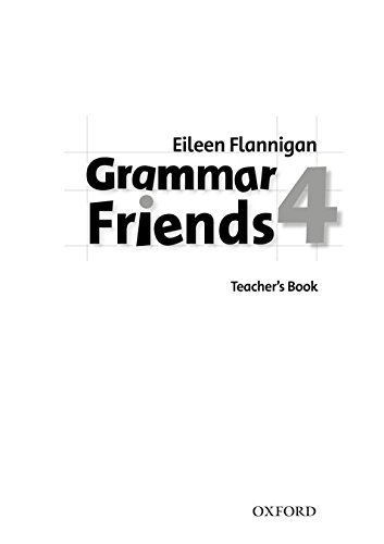 Grammar Friends 4: Teacher's Book - 9780194780094