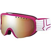 Bollé Modulador Gafas de esquí Scarlett Matte Pink/White/Citrus Gun, 21473