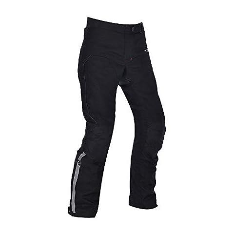 Oxford Dakota 2.0 lang Damen wasserfeste Textil Motorrad Hose schwarz - Schwarz, 10