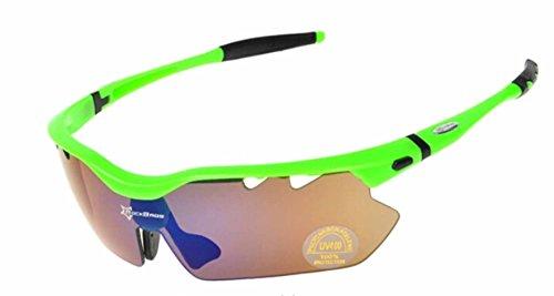 Gafas sol polarizadas deportes aire libre Unisex anti-polvo