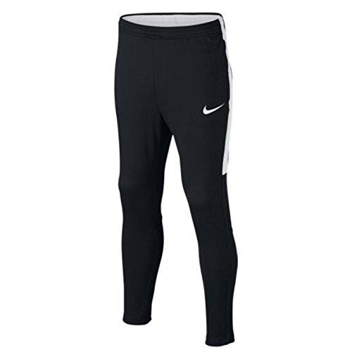 Nike Kinder Dry Academy Hose, Black/Black/White/White, L (Trainingshose Kinder Nike)