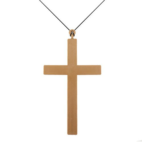 MagiDeal Nouveauté Croix Accessoire de Déguisement Prêtre Prop Toile de Fond de Studio