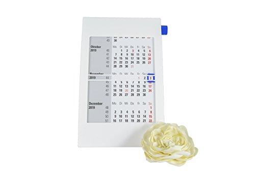 Calendario da parete/tavolo calendario 2018+ 2019, usato  Spedito ovunque in Italia