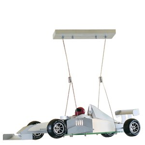 Searchlight Monaco Neuheit Halogen Anhänger Höhe ist komplett verstellbar. Komplett mit Linear Halogen 100Watt Lampe, ideal für jedes Jungen Schlafzimmer F1 -