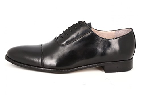 belym Chaussure Homme de Ville en Cuir Noir Noir