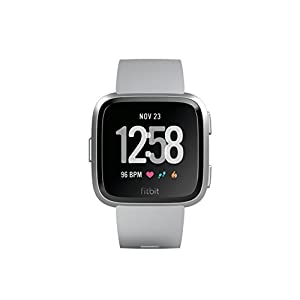 Fitbit Versa Reloj Deportivo, Unisex Adulto, Gris, Talla Única