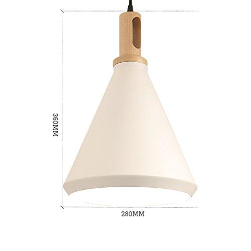GKJ Style Lustre restaurant Lumières Chapeau de paille Personnalité Simple Bar Lamp Variété ( Couleur : A )
