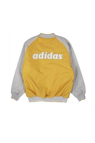 Adidas Kinder Jacke Blouson-Jacke , Farbe: Dunkelgelb, Groesse: 170 - 2