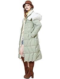 Chaquetas Mujer/Ropa de Abrigo Larga para Mujer 90% Pato Blanco Abajo Delgada Capucha