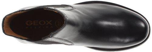 Geox UOMO CLAUDIO, Bottes Chelsea courtes, doublure froide hommes Noir (C9999)