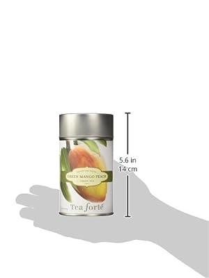 Tea Forte Mango Peach - Thé vert vrac bio Mangue Pêche - 100 g by Tea Forté