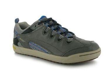 HI-TEC Sierra Sneaker Scarpa Uomo, Acciaio/Grigio, 42