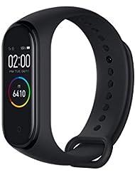 Xiaomi Mi Smart Band 4 Bracelet d'activité, Écran Tactile AMOLED Couleur de 0,95 '', Étanche jusqu'à 50 m, Batterie jusqu'à 20 Jours, Surveillance de l'état de santé, Suivi du Rythme, Noir