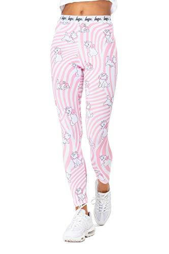 Hype Damen-Leggings Disney Pink Marie Warp