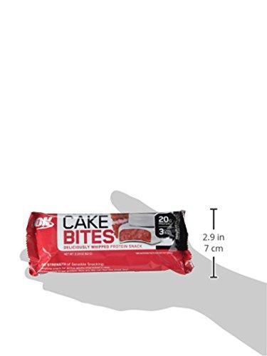 Optimum Nutrition - La torta della proteina morde il velluto rosso - 12 Bar - 31eyF%2BrJWNL