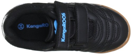 KangaROOS Babyyard 0040A, Scarpe sportive indoor unisex bambino Nero (Schwarz (blk/scubablue 541))