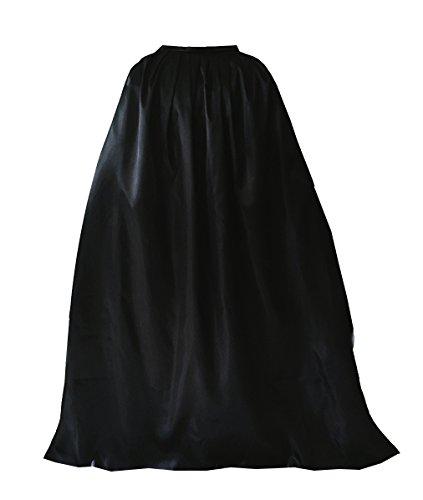 (GOLDSTITCH Damen Herren Halloween Umhang Karneval Fasching Kostüm Cape mit Kapuze)