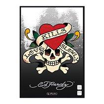 Preisvergleich Produktbild Ed Hardy Schulheft Lin.26 Love kills Slowly