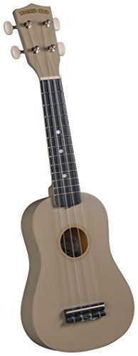 Diamond Head DU-121 Tropical Satin Series Soprano Ukulele - Java Brown