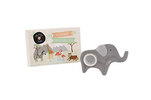 (Der kleine Tribe Safari Keramik Elefant Zahnfee Gericht in Geschenk-Box)