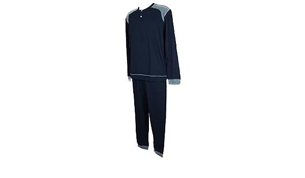 Ragno Article N25661 En Pyjama Manches Longues Seraphim Homme Coton 6w68x0