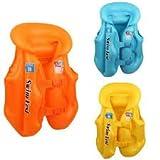 #1: Children Swim Vest Kids Life Jacket for Swimming – 3 Sizes. (9 -10)