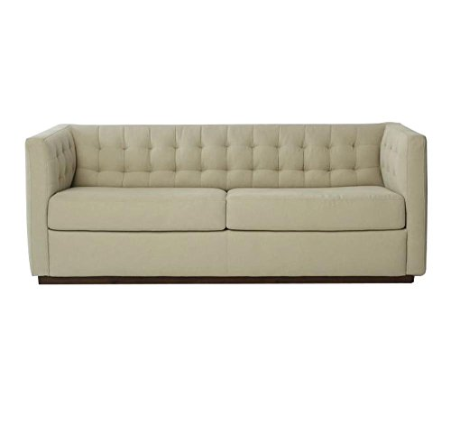 Afydecor Three Seater Sofa (Beige)