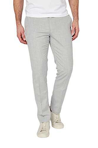 next Pantalon chiné Coupe Skinny Homme Gris