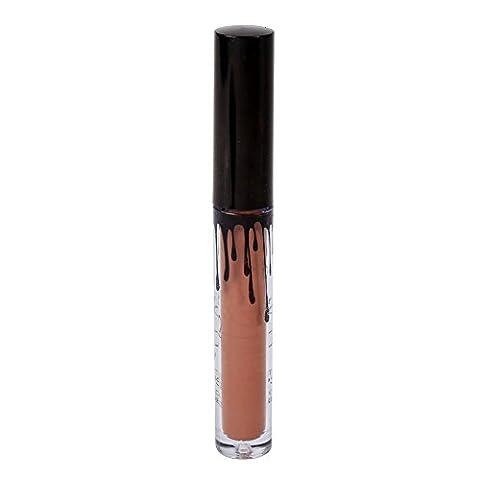 ROPALIA 16 Couleurs Waterproof Lip Gloss Liquid Matte Longue Tenue.