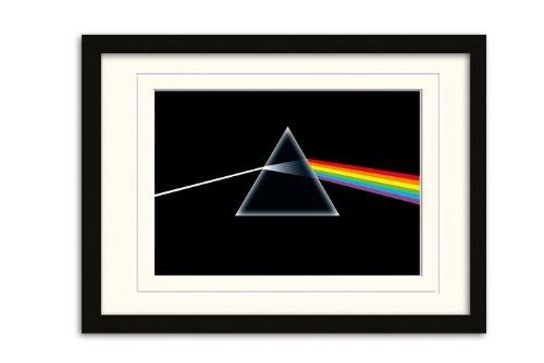 "Pyramid International - Poster con cornice montata ""Pink Floyd - Dark Side Of The Moon"", 30x42 cm"