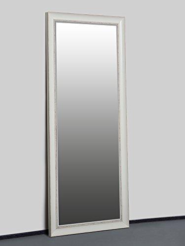 espejo de pared barroco blanco x cm espejo estilo shabby chic con colgarlo antigua