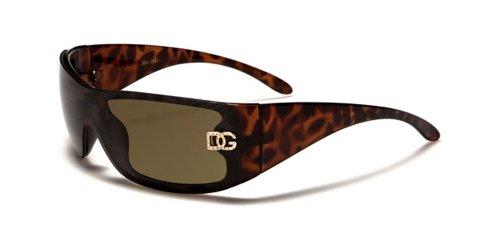 DG Eyewear Designer-Sonnenbrille-Schatten-Block 100% Uvb Uva groß 2540-Leopard