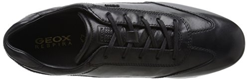 Geox U Efrem A, Oxfords Homme Schwarz (BLACKC9999)
