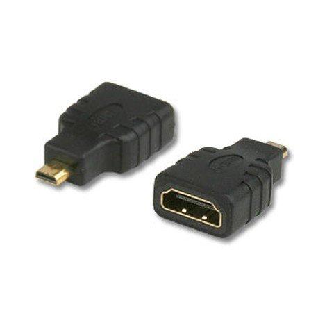 Connectland AD-Micro-HDMI-M-HDMI-F Adaptateur Micro HDMI Noir