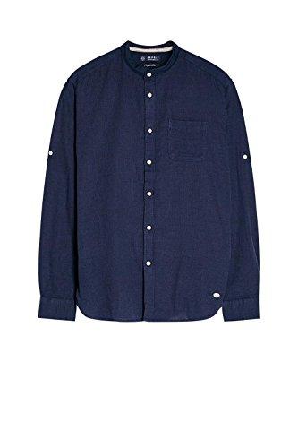 ESPRIT Herren Freizeit Hemd Blau (Navy 400)