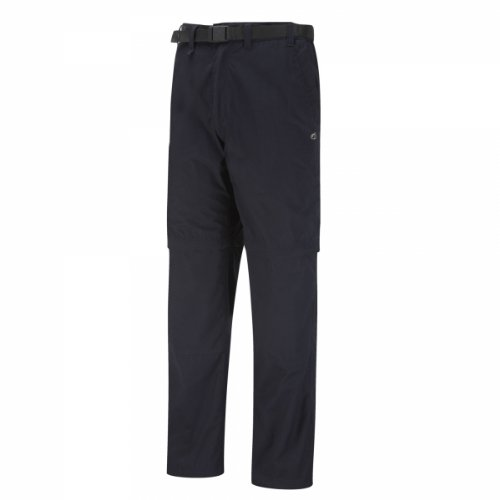 31eygT6P1aL. SS500  - Craghoppers Men's Kiwi Convertible Trouser, Black