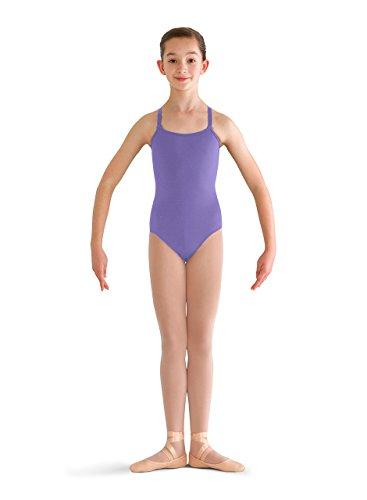 Bloch Dance Mädchen Pranay Gymnastikanzug mit verstellbarem Riemen, Mädchen, Lavendel, 4/6 -