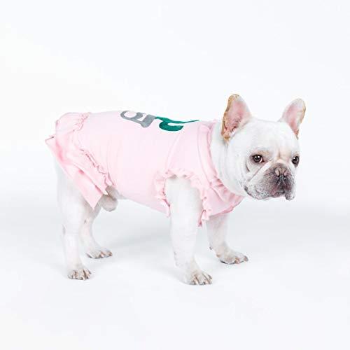 PZSSXDZW Bequeme weiche Haustierkleidung des neuen Hunderosa-niedlichen ()