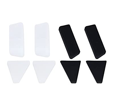 BTG Silicon Landing Gear Legs Extender Kit Stabilizers for DJI Mavic Pro Quadcopter - 2 SETS - Black & White