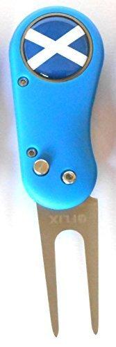 Lite-Alzapitch Flix Divot Golf Repair Tool & Ball Marker magnetica Sherpashaw-Scotland
