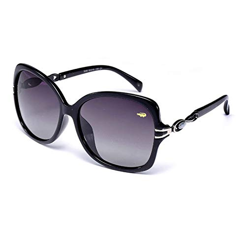 Sport-Sonnenbrillen, Vintage Sonnenbrillen, Sunglasses Female Women Designer Round Style Polarized UV400 Alloy Unisex Metal Decoration Clear Sun Glasses For Winter