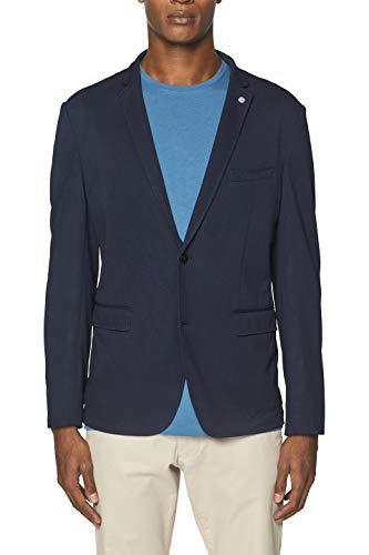 ESPRIT Herren 049Ee2G005 Blazer, Blau (Navy 400), (Herstellergröße: 48)