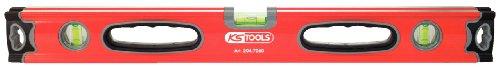 KS Tools 204.7050 Aluminiumprofil-Wasserwaage,500mm,Rohrnivellierung