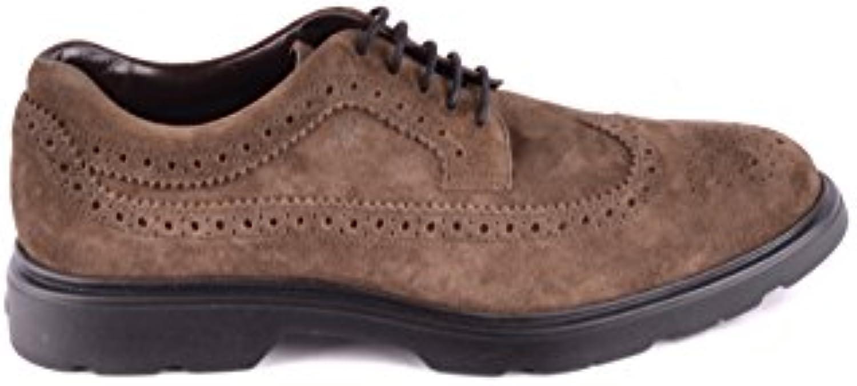 Hogan Homme MCBI148491O À Marron Suède Chaussures À MCBI148491O Lacets  4edab6 40f5e3ab069