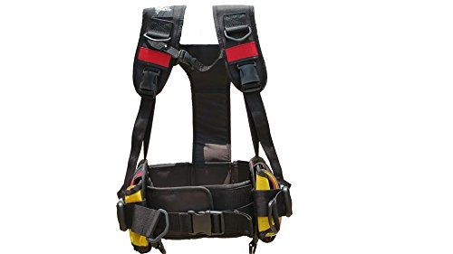 Buceo técnico peso arnés, Technical Harness, negro, large