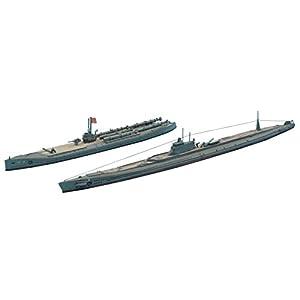 Hasegawa hwl432Scala 1: 700IJN Submarine I-370e I-68 Model Kit