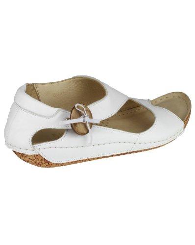 Riva Cartier - Sandales en cuir - Femme Blanc - blanc