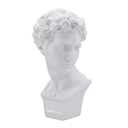 Ballen_Ma Giuliano Medici Plaster Chest Statue Height 15,5 cm with epoxy resin, Color White